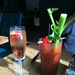 KIR ROYALE AND BLOODY MARY