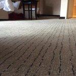 dusty carpets