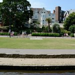 Arlington Hotel from Bournemouth Gardens
