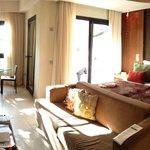 Zimmer mit seitlichem Meerblick