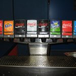 Cold drinks machine, Pizza Planet
