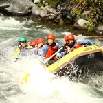 rafting on the Tongariro River North Island NZ