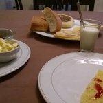 Berber style breakfast