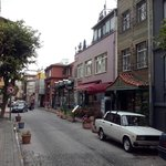 Sultanahmet district where hostel is located