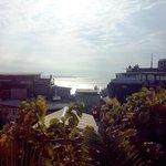 View from hostel restaurant