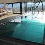 Pool mit Blick zu den Salzburger Bergen