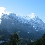 Eiger view from balcony