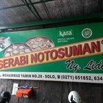 Serabi Notosuman Ny. Lidia Foto