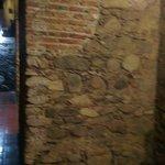 Detalle en la Pared de la Restauracion