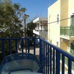 Elia Studios Balcony