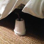 Bed on stilts.  Really?