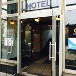 Hoteleingang Hotel Logos