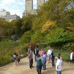 Max et son groupe, dans Central Park