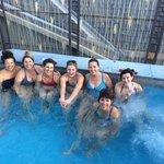 Hot tub at the Chill Spa