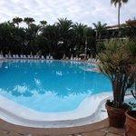 Herrlicher Pool im Parque Tropical