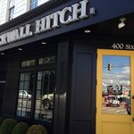 This is the outside - we could smell the aroma of the delicious food from across the street!