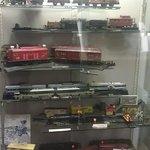 Vintage model trains