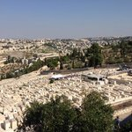 View from Mt of Olives