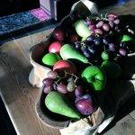 Fruit basket in the Public Area