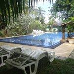 im juli eröffnet,der swimmingpool im susantha garden