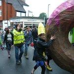 Big donut! Patina parade