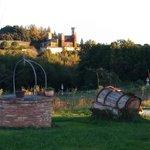 Vista sul Castello di Celsa