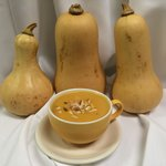Butternut Squash soup. A Steve & Rocky's staple.