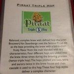 The description of the Piraat Triple Hop