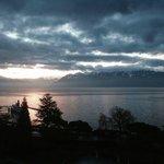 Vista amanhecer