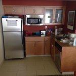 Kitchen. No oven.