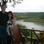 Vista al Paraná desde la galeria con afluente Mondai-y