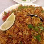 Biryani rice w / Raita