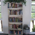 Paper back book lending library