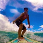 Surfing with Bodie in Barbados
