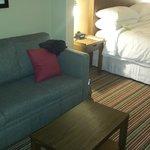 nice furniture, very comfortable