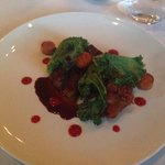 Veal shoulder with sweetbreads