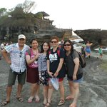 Tanah Lot, Bali - with our driver/guide Dennis