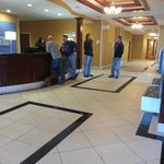 Front Desk Area at the Holiday Inn Express Hotel & Suites Reno