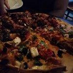 beautiful pizza!