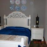 部屋1 ベッド
