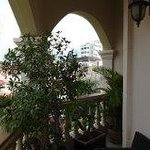 Balcony view room 303