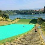 """""""Grass"""" Slide at Saikai Park"""