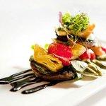 Mushroom & Gorgonzola Salad