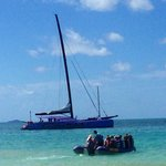 The beautiful camira sailing trip At whitehaven beach