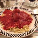 Fettuccini with Meatballs