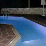 pool - night