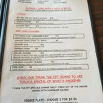 Hollywood Diner - Menu