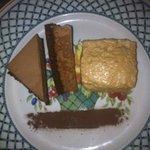 croquant chocolat et mousse au praliné