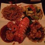 Kyoto - lobster and shrimp dinner