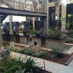 Garden Foyer & Fountain